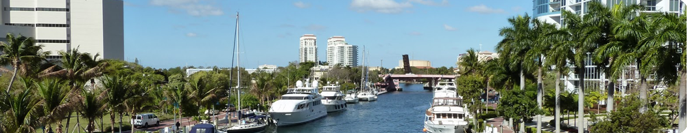 Condominiums for sale on the waterfront, South Florida